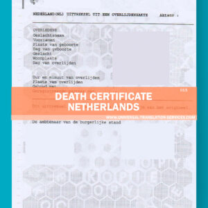 015-death certificate netherlands