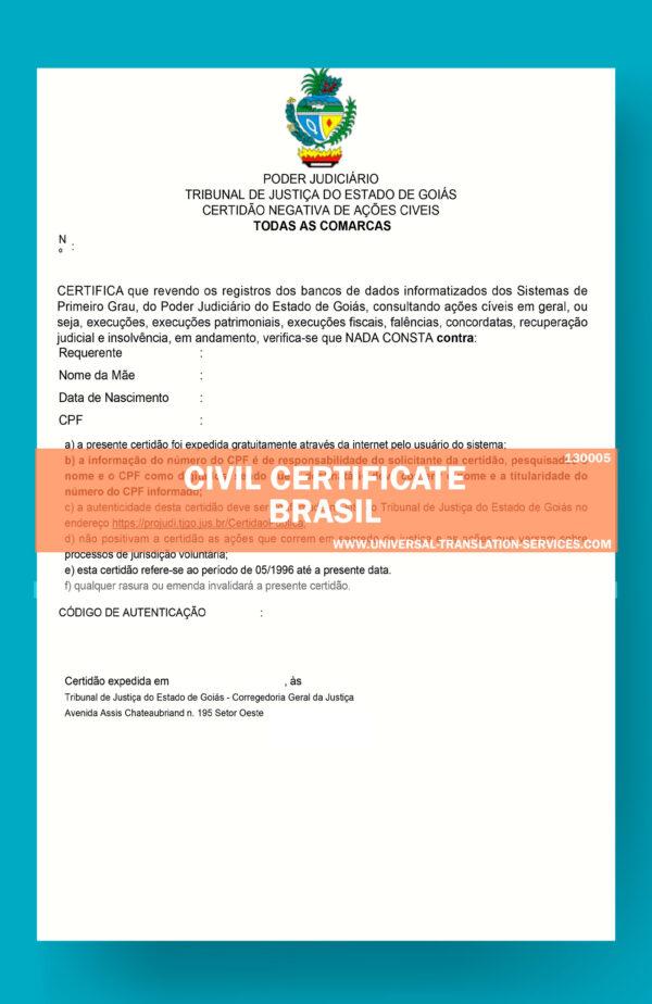 130005-STATE-CIVIL-CERTIFICATE---Brazil