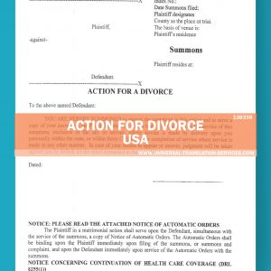 138338_Action for Divorce_Divorce Intent-English-Spanish[1]