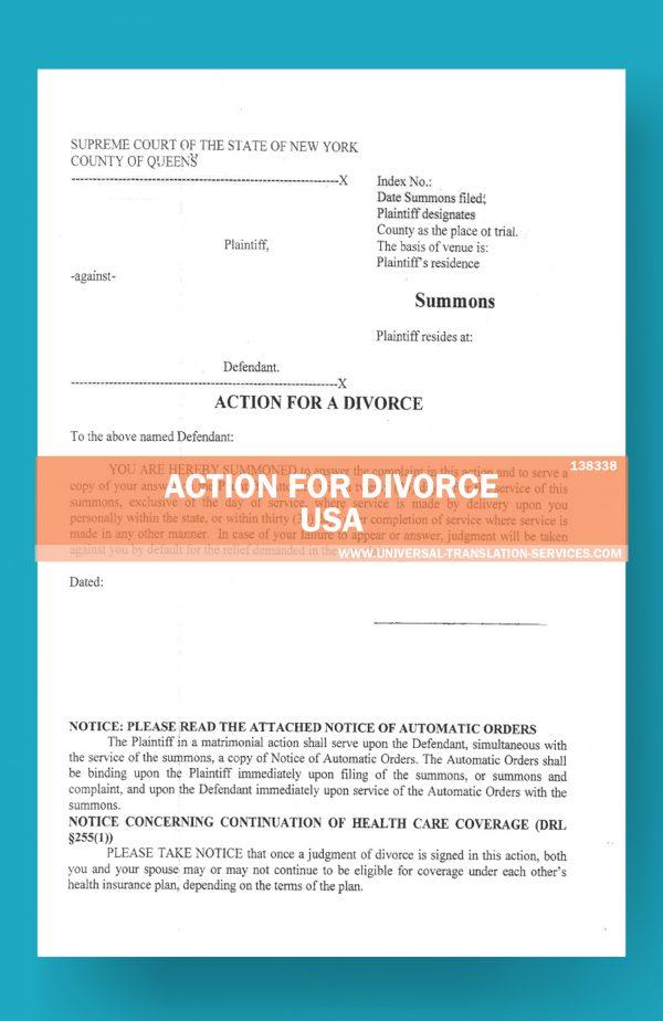 138338_Action for Divorce_Divorce Intent-English-Spanish[1]